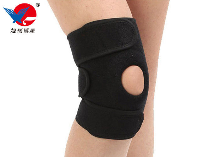 Colorful Sport Knee Support Brace , Custom Design Athletic Compression Knee Brace